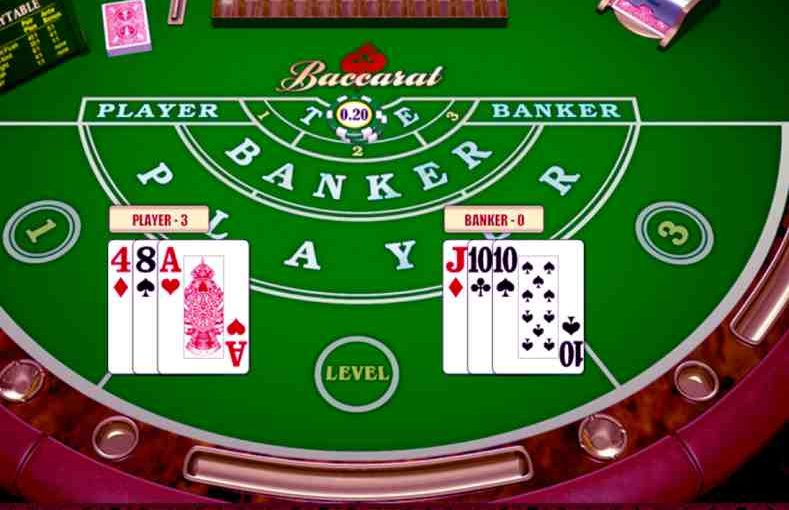 Baccarat online in Canada